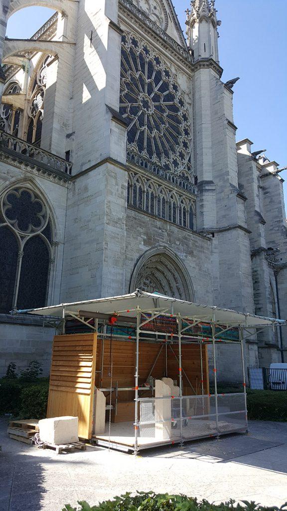 Loge d'artisan Basilique Saint Denis