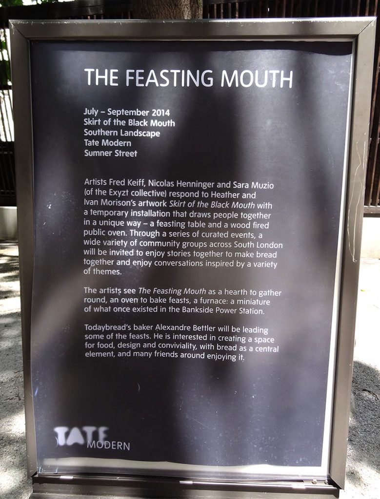 the feasting mouth
